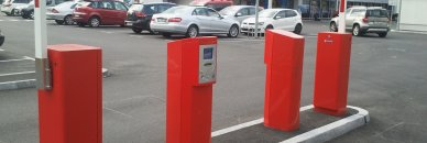 Implementation of parking system for a major food retailer in Slovenia